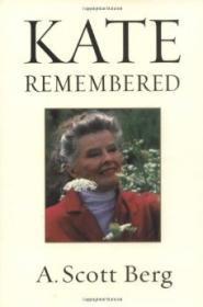 Kate RememberedBerg, A. Scott - Product Image