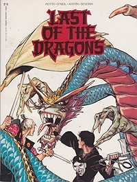Last of the DragonsPotts, Carl and others, Illust. by: Carl  Potts - Product Image