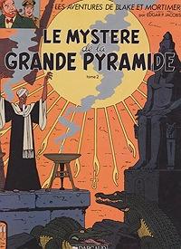 Le Mystere de la Grande Pyramide Tome 2 -  Les Adventures de Blake et MortimerJacobs, Edgar P., Illust. by: E.P. Jacobs - Product Image