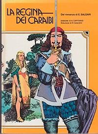 Le regina dei caraibi (Italian Edition)Salgari, Emilio, Illust. by: Aldo  Capitanio - Product Image