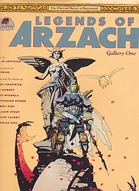 Legends of Arzach: Gallery One - The Charcoal Burner of RavenwoodLofficier, R.J.M. - Product Image