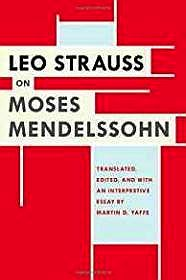 Leo Strauss on Moses MendelssohnYaffe (Ed.), Martin D. - Product Image