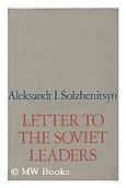 Letter to the Soviet leadersSolzhenitsyn, Aleksandr Isaevich - Product Image