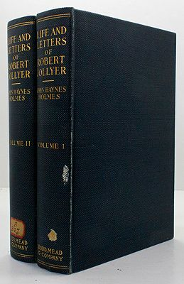 Life and Letters of Robert Collyer 1823-1912 - Two VolumesHolmes, John Haynes - Product Image