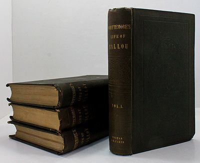 Life of Rev. Hosea Ballou; with Accounts of His Writings, and Biographical Sketches of His Seniors and Contemporaries in the Universalist Ministry - Four VolumesWhittemore, Thomas - Product Image