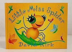 Little Miss SpiderKirk, David (Illustrator), Illust. by: David Kirk - Product Image
