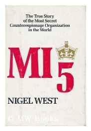 MI5: British security service operations, 1909-1945West, Nigel - Product Image