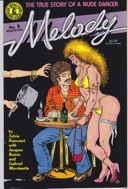 Melody: The True Story of a Nude Dancer - No. 5,6,7,& 8 (Four Issues)Rancourt, Sylvia - Product Image