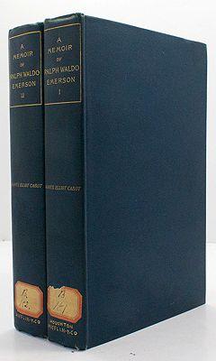 Memoir of Ralph Waldo Emerson - Two Volumes, ACabot, James Elliot - Product Image