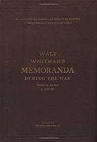 Memoranda During the WarWhitman, Walt - Product Image