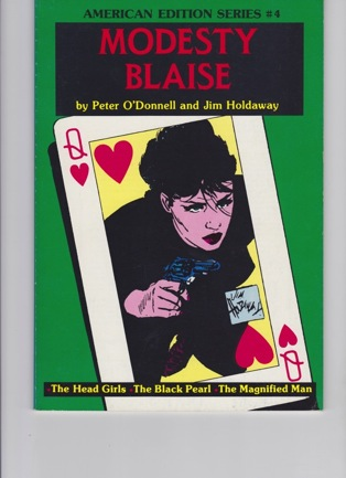 Modesty Blaise: The Head Girls, The Black Pearl, The Magnified ManO'Donnell, Peter and Jim Holdaway - Product Image