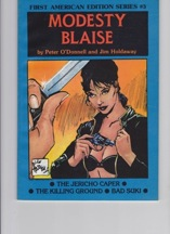 Modesty Blaise: The Jericho Caper, The Killing Ground, Bad SukiO'Donnell, Peter and Jim Holdaway - Product Image