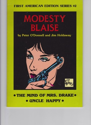 Modesty Blaise: The Mind of Mrs. Drake, Uncle HappyO'Donnell, Peter and Jim Holdaway - Product Image