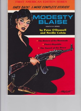 Modesty Blaise: The Return of the Mammoth, Plato's Republic, The Sword of the BruceO'Donnell, Peter and Neville Colvin - Product Image