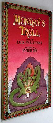 Monday's TrollPrelutsky, jack/Peter Sis, Illust. by: Peter Sis - Product Image