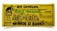 Monroe Street Books  $25 Gift Certificate - Product Image
