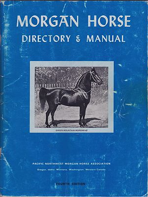 Morgan Horse: Directory & Manual - Fourth EditionHunt (Editor), Nancy - Product Image
