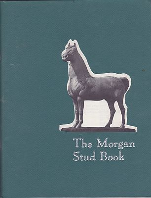 Morgan Stud Book, Then/a - Product Image