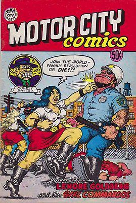Motor City ComicsCrumb, Robert, Illust. by: Robert  Crumb - Product Image