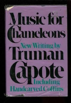 Music for Chameleons: New Writings by Truman CapoteCapote, Truman - Product Image