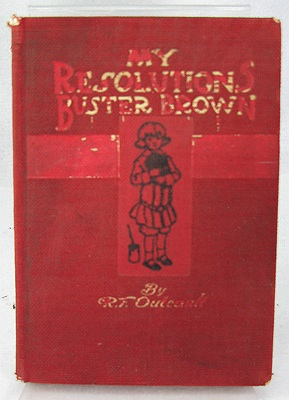 My Resolutions - Buster BrownOutcault, R. F. , Illust. by: R.F. Outcault - Product Image