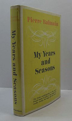 My Years and SeasonsBalmain, Pierre - Product Image