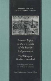 NATURAL RIGHTS ON THE THRESHOLD OF THE SCOTTISH ENLIGHTENMENTCARMICHAEL, GERSHOM - Product Image