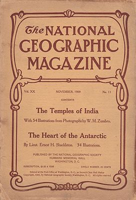 National Geographic Magazine - November 1909   Vol. XX   No. 11National Geographic Society - Product Image