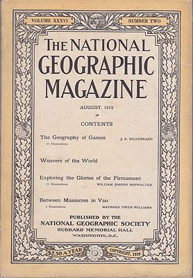 National Geographic Magazine - Vol. XXXIII  No. 6 June 1918National Geographic Society - Product Image