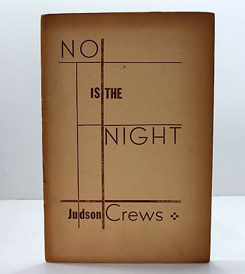 No Is the Night (SIGNED COPY)Crews, Judson - Product Image