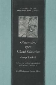 OBSERVATIONS UPON LIBERAL EDUCATIONTURNBULL, GEORGE - Product Image
