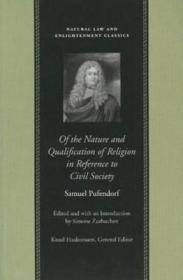 OF THE NATURE AND QUALIFICATION OF RELIGION IN REFERENCE TO CIVIL SOCIETYby: PUFENDORF, SAMUEL - Product Image