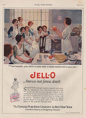 ORIG VINTAGE 1924 JELL-O ADillustrator- N/A - Product Image