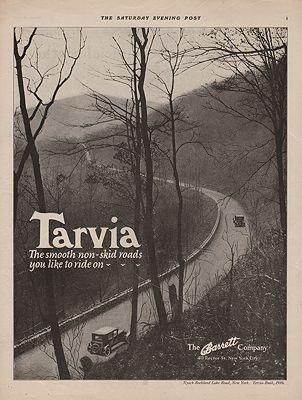 ORIG VINTAGE 1925 BARRETT COMPANY ADillustrator- N/A - Product Image