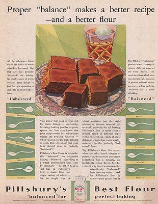 ORIG VINTAGE MAGAZINE AD - 1920s PILLSBURY FLOUR ADillustrator- Merritt  Cutler - Product Image