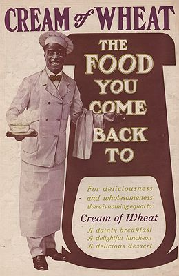 ORIG. VINTAGE MAGAZINE AD: 1894 CREAM OF WHEAT ADillustrator- N/A - Product Image