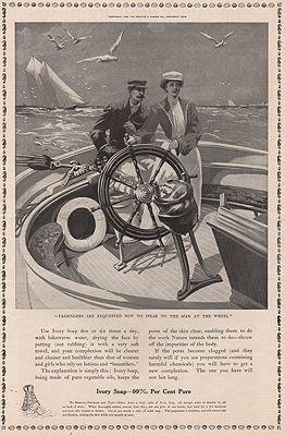 ORIG. VINTAGE MAGAZINE AD: 1905 IVORY SOAP ADillustrator- N/A - Product Image