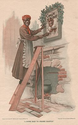 ORIG. VINTAGE MAGAZINE AD: 1912 CREAM OF WHEAT ADillustrator- Edward  Brewer - Product Image