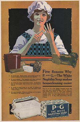 ORIG VINTAGE MAGAZINE AD/ 1917 PROCTOR & GAMBLE SOAP ADillustrator- N/A - Product Image