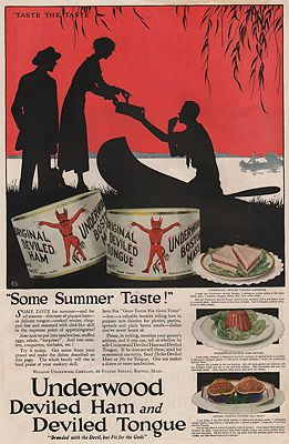 ORIG VINTAGE MAGAZINE AD/ 1919 UNDERWOOD DEVILED HAM ADillustrator- N/A - Product Image