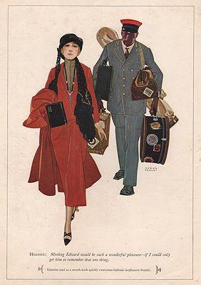 ORIG VINTAGE MAGAZINE AD/ 1926 LISTERINE ADillustrator- Myron  Perley - Product Image