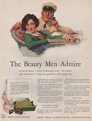 ORIG VINTAGE MAGAZINE AD/ 1927 PALMOLIVE SOAP ADillustrator- N/A - Product Image