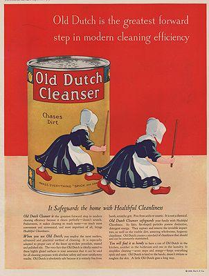ORIG VINTAGE MAGAZINE AD/ 1929 OLD DUTCH CLEANSER ADillustrator- N/A - Product Image