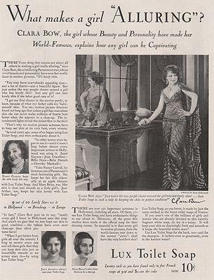 ORIG VINTAGE MAGAZINE AD/ 1930 LUX TOILET SOAP ADillustrator- N/A - Product Image