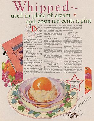 ORIG VINTAGE MAGAZINE AD/ 1930 PET MILK ADillustrator- M.  Kaiser - Product Image