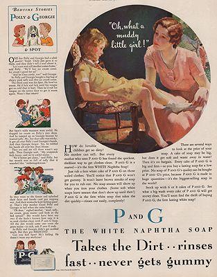 ORIG VINTAGE MAGAZINE AD/ 1931 PROCTOR & GAMBLE SOAP ADillustrator- Roy  Spreter - Product Image