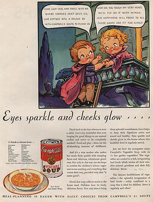 ORIG VINTAGE MAGAZINE AD/ 1932 CAMPBELL'S SOUP ADillustrator- Grace  Dayton - Product Image