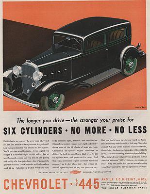 ORIG VINTAGE MAGAZINE AD/ 1932 CHEVROLET CAR ADillustrator- Ronald  Mcleod - Product Image