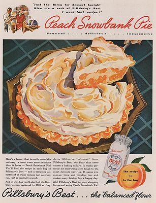 ORIG VINTAGE MAGAZINE AD/ 1936 PILLSBURY FLOUR ADillustrator- N/A - Product Image