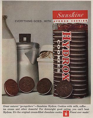 ORIG VINTAGE MAGAZINE AD/ 1961 SUNSHINE HYDROX COOKIE ADillustrator- N/A - Product Image